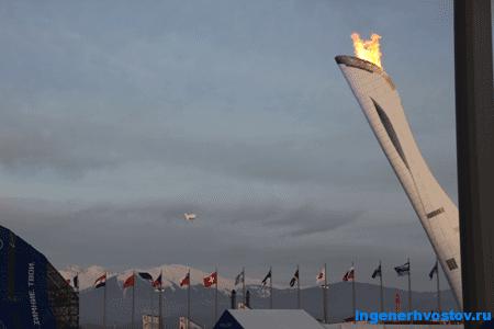 Пост 9: Олимпийские Игры в Сочи 2014: У олимпийского огня...
