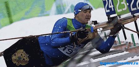 Ирек Зарипов. Паралимпийские Игры в Сочи