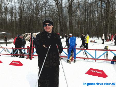 На лыжной базе Чайка, Хвостов Андрей