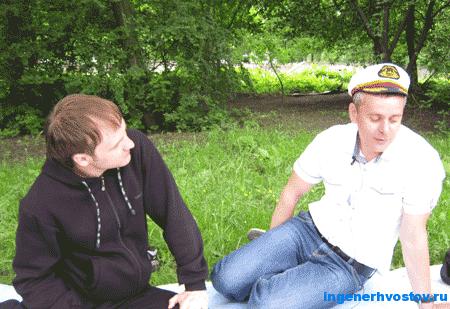 Челпаченко Влад и Никитин Александр на тренинге ВИП-группы Челпаченко в Питере