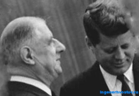 Встреча Шарля де Голля с Кеннеди