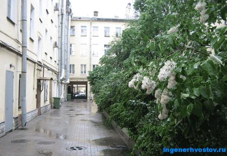 Дворик питерского дома на Невском проспекте