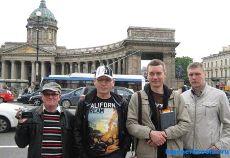 Хвостов Андрей и участники ВИП-группы Челпаченко на тренинге
