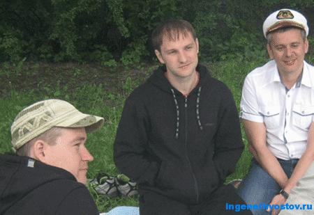 Хвостов Андрей на тренинге в Екатерингофском парке Питера