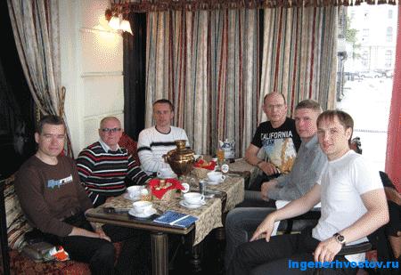 Хвостов Андрей на тренинге в Санкт-Петербурге