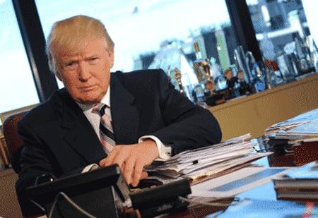 Дональд Трамп на Манхэттене