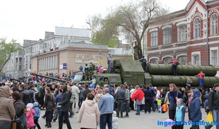 9 мая 2015, военная техника в Самаре