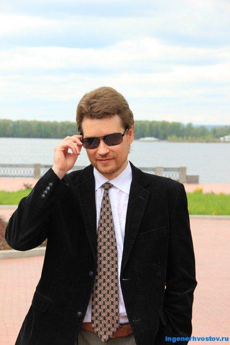 Андрей Хвостов у Волги