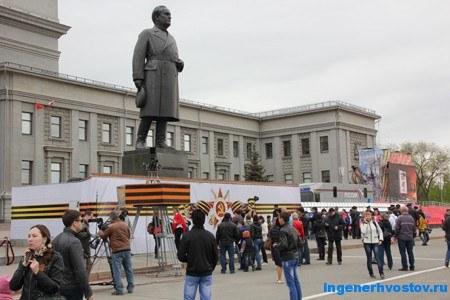 Площадь Куйбышева в Самаре