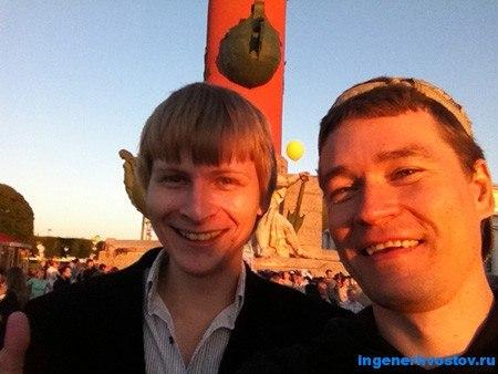 Андрей Вин и Андрей Хвостов после коуч-сессии