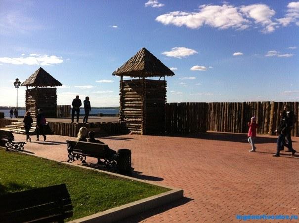 Крепость Самара на Волге