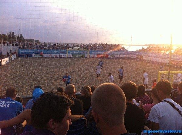 пляжный футбол в самаре 2015
