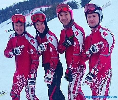 Алексей Толкачёв - лыжи