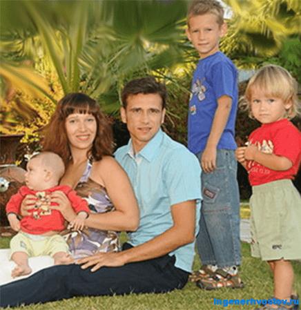 Валерий Сорокин - семья