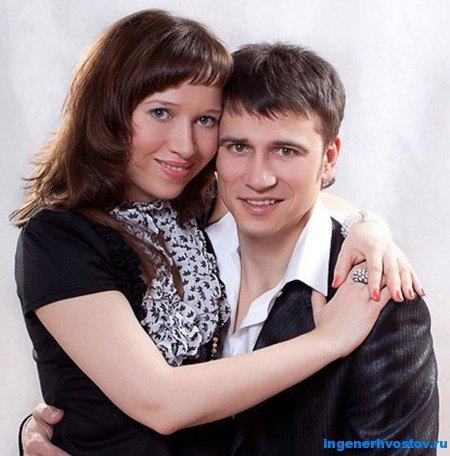 Валерий Сорокин с женой