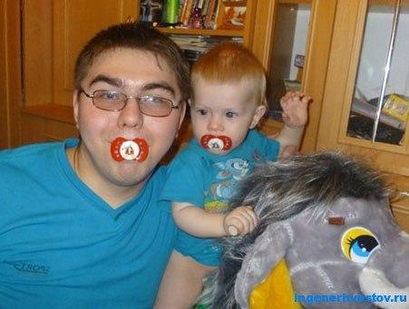 Рашит Сайфутдинов с сыном