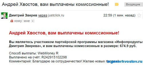 Партнёрка Виталия Тимофеева
