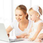 Работа в декрете – как заработать в Интернете