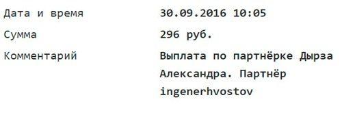 Александр Дырза, комиссионные