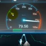 Как узнать скорость Интернета на компьютере windows 7?