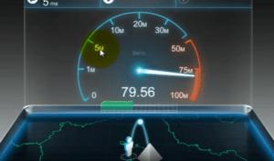 Как узнать скорость интернета на компьютере windows 7