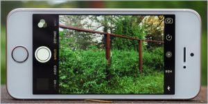 Не работает камера на айфоне 5s черный экран