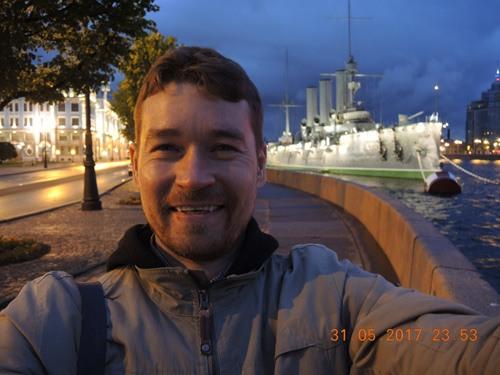 Хвостов Андрей, крейсер Аврора
