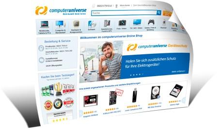 Как покупать на Computeruniverse