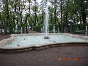 Летний Сад в Питере