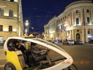 Велопрогулка по Санкт-Петербургу
