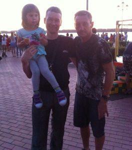 С Тихоновым Андреем
