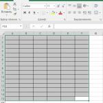 Как создать таблицу в Эксель