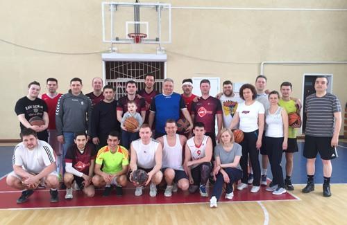 Соревнование по баскетболу, Самара