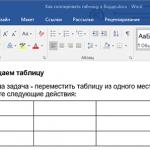 Как скопировать таблицу в Ворде на другой лист без изменений