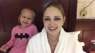 С дочкой