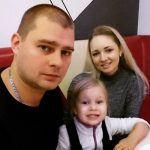 Алексей Ко и его маленькая дочь