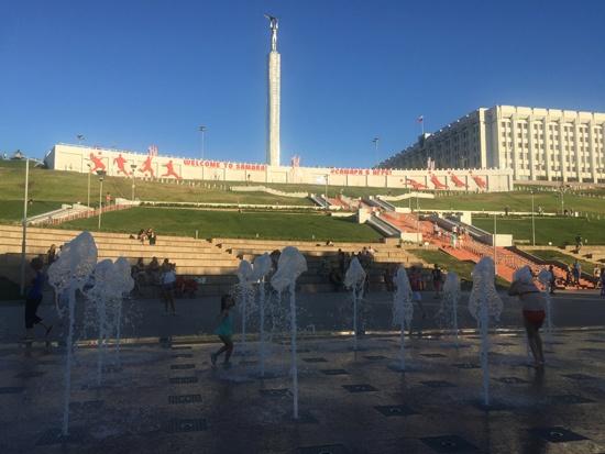 Самарский фонтан-2018-4