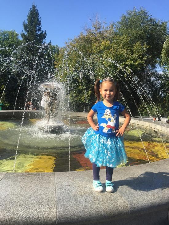 Струковский сад в Самаре, сентябрь 2018