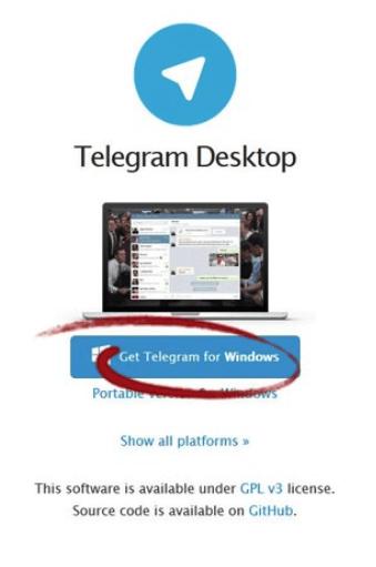скачать телеграм на компьютер