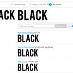 Как определить шрифт по картинке, на сайте, в PSD файле