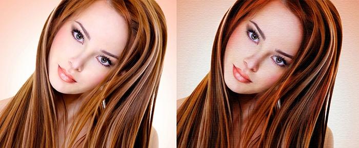как сделать портрет из фотографии в Фотошопе