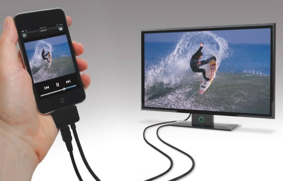 как вывести изображение с телефона на телевизор через USB