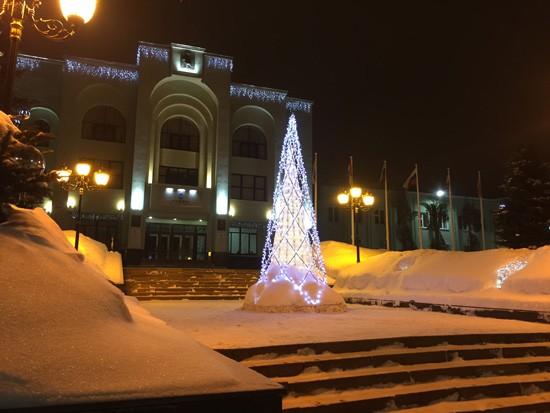 Улица Куйбышева зимой, Самара