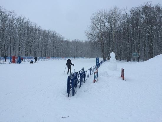 Самарская лыжная база Чайка