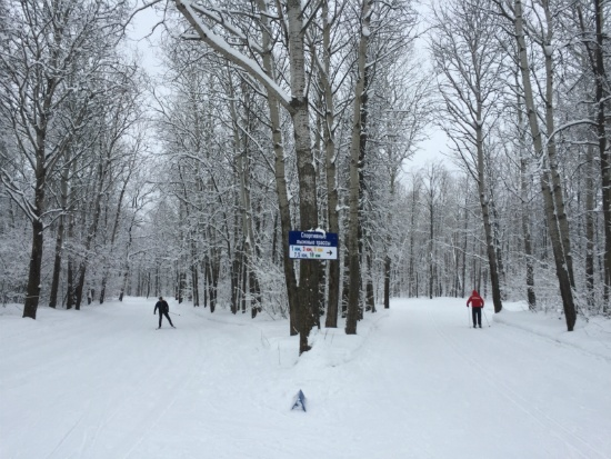 Лыжная база Чайка, Самара