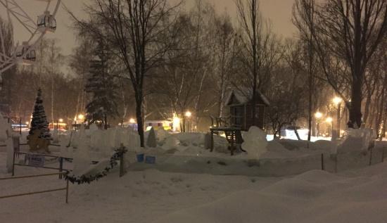 Парк Гагарина в Самаре, 1 марта