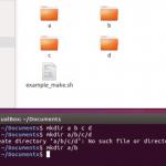 Как создать файл в Линукс через консоль, терминал и другие способы