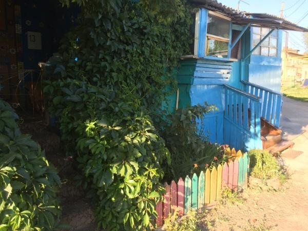 Жом в посёлке Шмидта