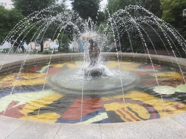 Фонтан в Струковском саду