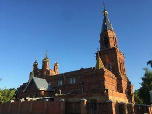 Храм в посёлке Шмидта